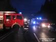 Verkehrsunfall B20 - Person eingeklemmt