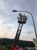 2018.08.02 Mast Telefonleitung umgestürzt